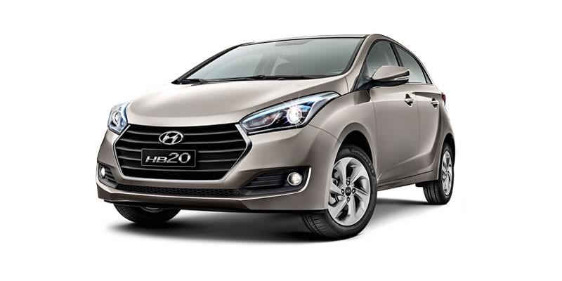 Hyundai HB20 1.6 GAMMA TRANSMISSÃO MANUAL 2016